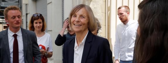 La ministre des Affaires européennes, Marielle de Sarnez, le 11 juin 2017 à Paris.