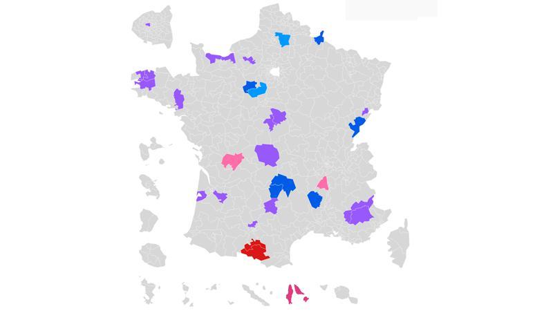 CARTE. Législatives : découvrez les résultats du second tour dans votre circonscription