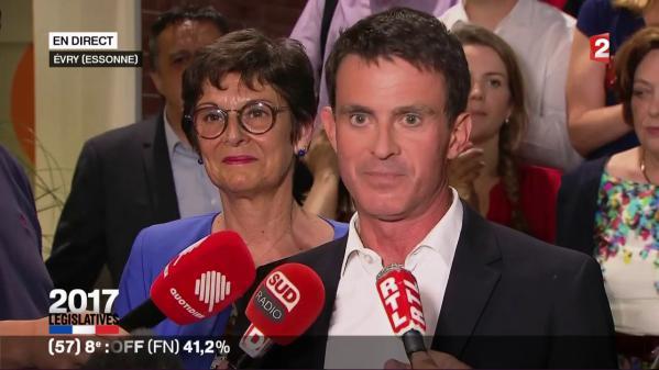 """DIRECT. Législatives : la candidate de La France insoumise opposée à Valls """"revendique"""" elle aussi la victoire dans l'Essonne"""
