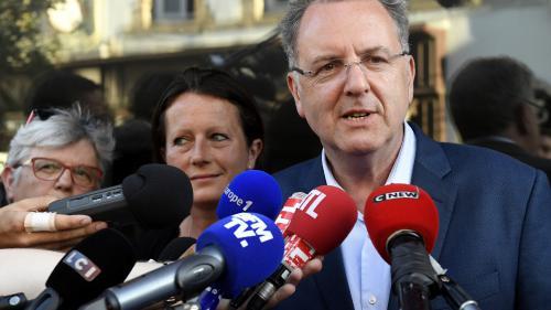 """VIDEO. Richard Ferrand assure qu'il n'est """"pas question d'immunité"""" parlementaire si la justice souhaite l'entendre"""