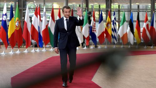 Emmanuel Macron : le souhait d'une Europe qui change
