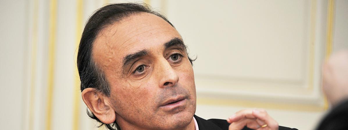 Le polémiste Eric Zemmour à Lyon (Rhône), le 21 novembre 2014.