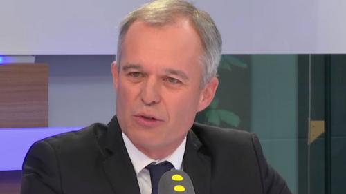 """François de Rugy, candidat à la présidence de l'Assemblée, défend un projet avec """"30% de députés en moins"""""""