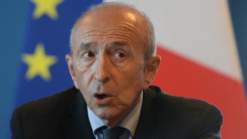 "G. Collomb : éviter un ""appel d'air"" à Calais"