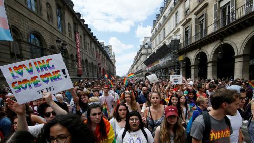 """Marche des fiertés : des milliers de personnes ont marché pour demander """"la PMA pour toutes"""""""