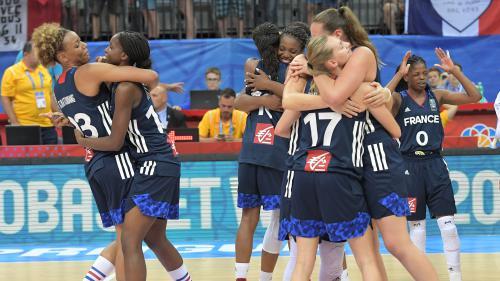 Basket : les Bleues battent la Grèce et affronteront l'Espagne en finale de l'Euro