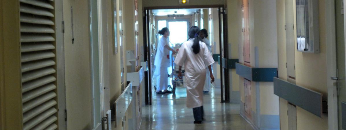 Seine Saint Denis trois personnes agresséesà coups de couteau dans un h u00f4pital # Hopital Robert Ballanger Aulnay Sous Bois