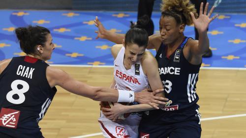 Euro de basket : les Bleues largement battues en finale par l'Espagne (71-55)