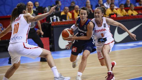 Basket : les Bleues échouent en finale de l'Euro pour les adieux de Céline Dumerc