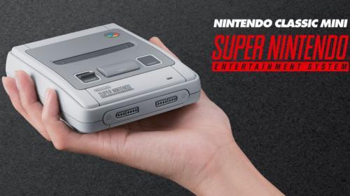 Nintendo va ressortir sa Super Nes avec la SNES Classic mini