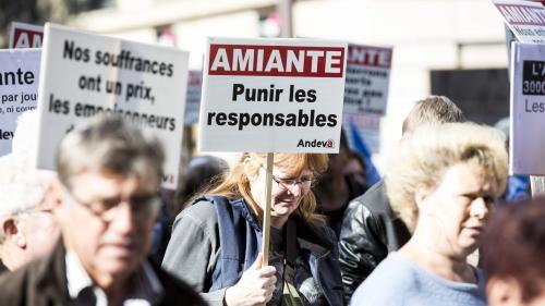 VIDEO. Manifestation contre la présence d'amiante dans les établissements scolaires