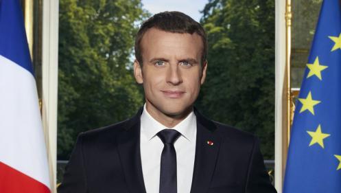 Découvrez le portrait officiel d'Emmanuel Macron