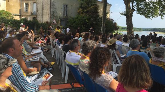 Photo du festival durant une conférence