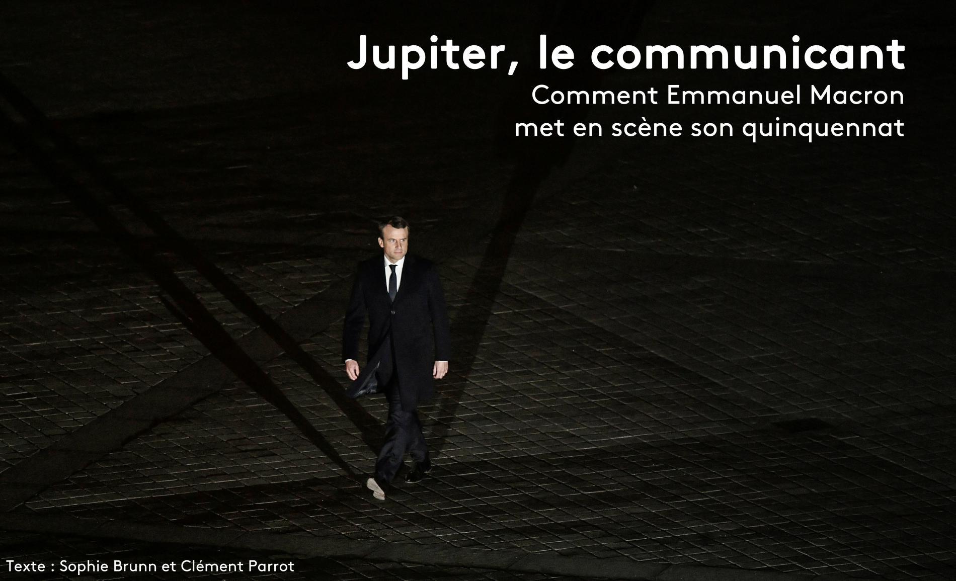 Recit Je Parle Du Sujet Que J Ai Choisi Comment Emmanuel Macron Preside Une Communication Sous Controle