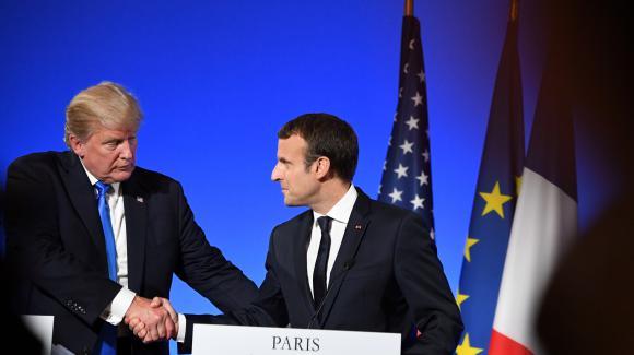 Donald Trump a rencontré jeudi 13 juillet 2017 Emmanuel Macron à Paris