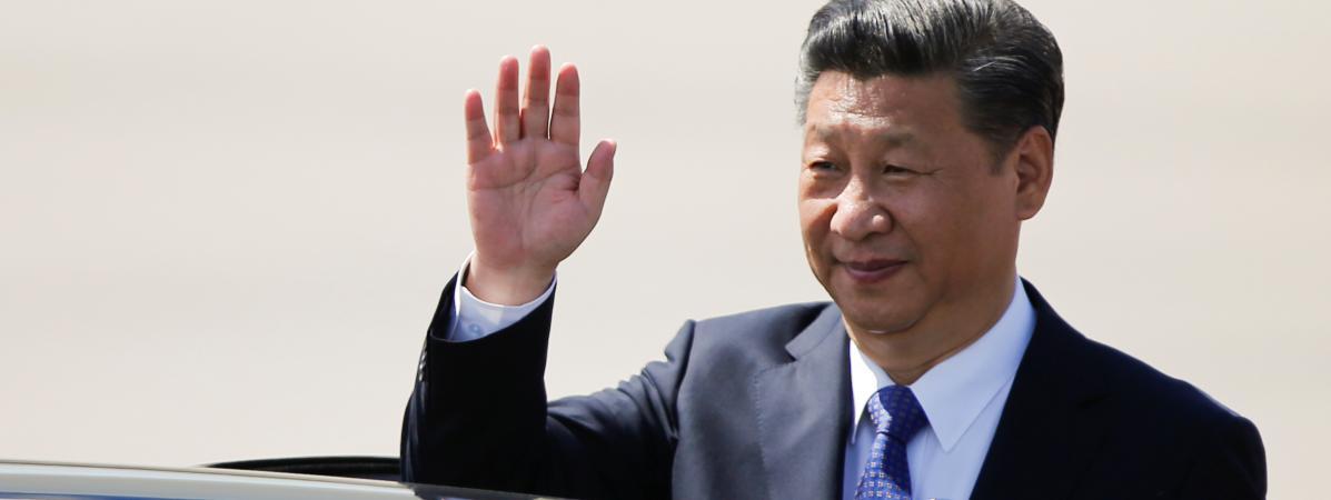 Le président chinois Xi Jinping, au sommet du G20, à Hambourg(Allemagne), le 6 juillet 2017.