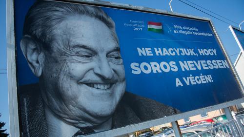 Hongrie : la campagne anti Soros menée par le gouvernement exaspère une partie des  Budapestois