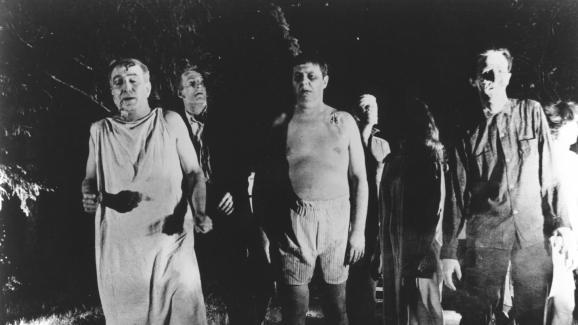 Extrait du film &quotLa Nuit des morts-vivants&quot.