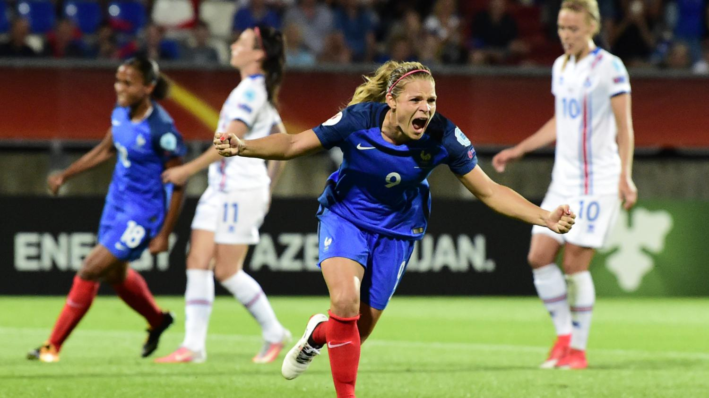 Euro f minin de foot la france bat l 39 islande l 39 arrach e 1 0 pour son entr e dans la - Coupe europe foot feminin ...
