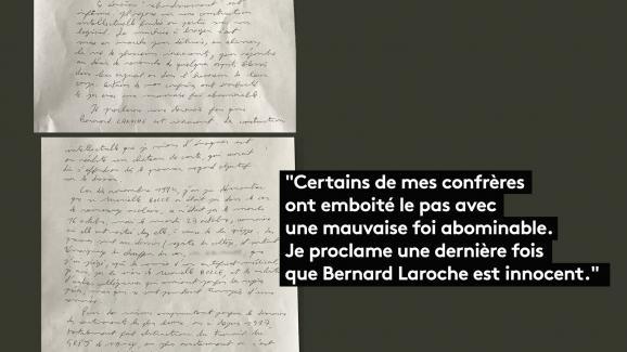 Extrait du courrier signé du juge Lambert, daté du11 juillet 2017.