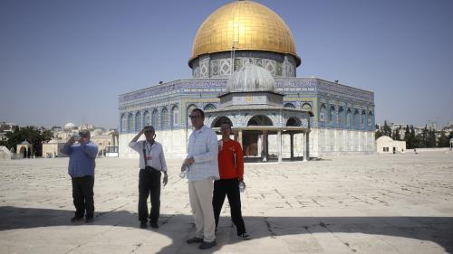 """""""On n'accepte pas d'être fouillés ici"""" : à Jérusalem, la tension est vive après la sécurisation de l'esplanade des Mosquées"""