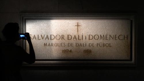 Le corps de Salvador Dali exhumé, 28 ans après sa mort, pour un test de paternité