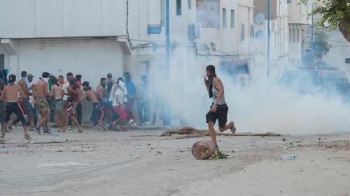 VIDEO. Maroc : un manifestant dans le coma après des affrontements avec les forces de l'ordre