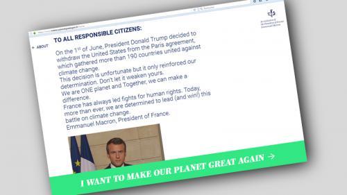 """""""Make our planet great again"""" : plus de 150 climatologues ont déposé un dossier pour venir travailler en France"""