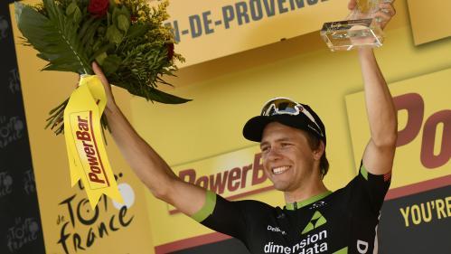 Tour de France : au terme d'une longue échappée, le Norvégien Boasson Hagen remporte la 19e étape