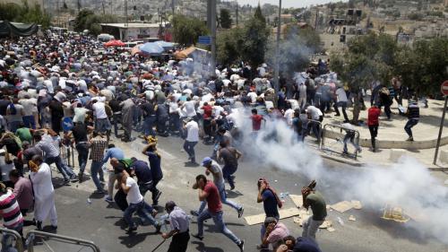 VIDEO. A Jérusalem, l'esplanade des Mosquées sous tensions