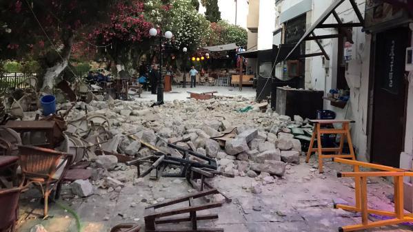Île de Kos : après le séisme, les structures touristiques doivent faire face