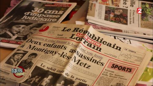 """VIDEO. """"13h15"""". La fausse piste suivie par les enquêteurs dans le double meurtre de Montigny-lès-Metz en 1986"""