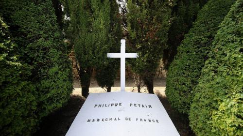Vendée: la tombe du maréchal Pétain vandalisée à l'île d'Yeu