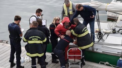 """""""Il était complètement à la dérive"""" : un skipper sauve un migrant en mer du Nord"""