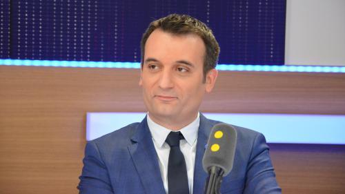 """FN : Florian Philippot """"aimerait prendre un café"""" avec Jean-Luc Mélenchon pour voir ce qui les oppose"""