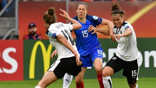 Euro de foot féminin : la France tenue en échec par l'Autriche (1-1) pour son deuxième match de poules