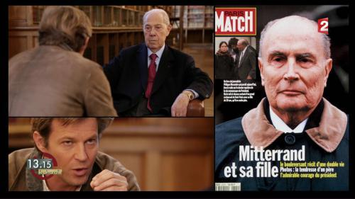 """VIDEO. """"13h15"""". Charles Pasqua : """"François Mitterrand et moi, finalement, nous nous sommes rejoints"""""""