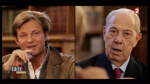 """VIDEO. """"13h15"""". Charles Pasqua : """"Je romps avec le SAC quand Pompidou va succéder à de Gaulle"""""""