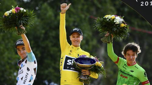 VIDEO. Le sacre de Froome, le sprint de Groenewegen, les adieux de Voeckler : une dernière étape émouvante sur le Tour de France