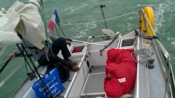 Témoignage : il sauve un migrant en mer