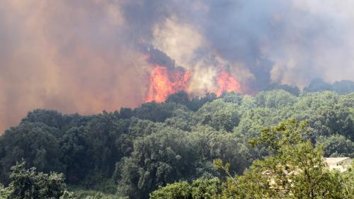 DIRECT. Incendies : le ministre de l'Intérieur se rend en Corse