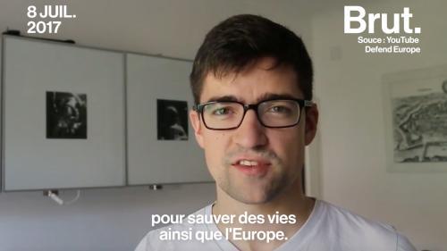 Des militants identitaires veulent empêcher l'entrée des migrants en Europe