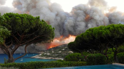 EN IMAGES. Incendies : trois jours au milieu des flammes et des évacuations dans le Sud-Est