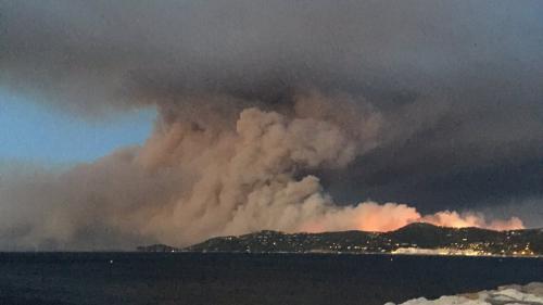 DIRECT. Incendies dans le Sud-Est : un nouveau feu fait rage dans le Var, 12 000 personnes évacuées