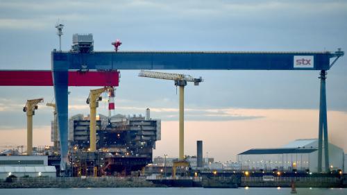 Quatre questions sur la nationalisation temporaire des chantiers navals STX de Saint-Nazaire