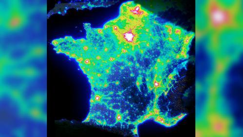 CARTE. Pluie d'étoiles filantes : votre commune est-elle un bon endroit pour les observer ?