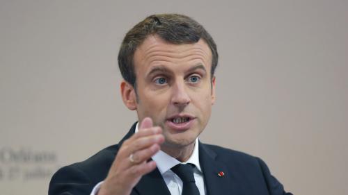 """VIDEO. Migrants : Emmanuel Macron ne """"veut plus personne dans les rues"""" d'ici """"la fin de l'année"""""""