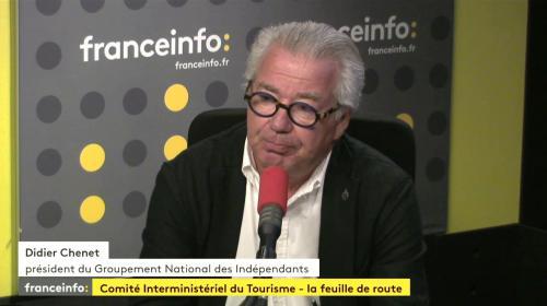 """Annonces d'Édouard Philippe sur le tourisme : """"Ce sont d'excellentes mesures"""", selon le Groupement national des indépendants"""