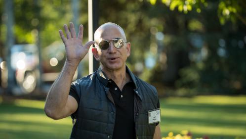 Le temps d'une journée, le fondateur d'Amazon est devenu l'homme le plus riche du monde devant Bill Gates