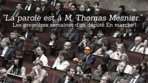 """""""La parole est à M. Thomas Mesnier"""" : les premières semaines d'un député En marche !"""